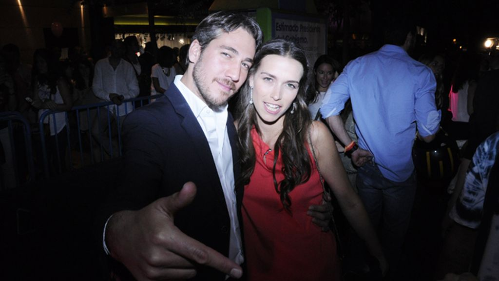 Alberto Amman y Clara Méndez-Leite