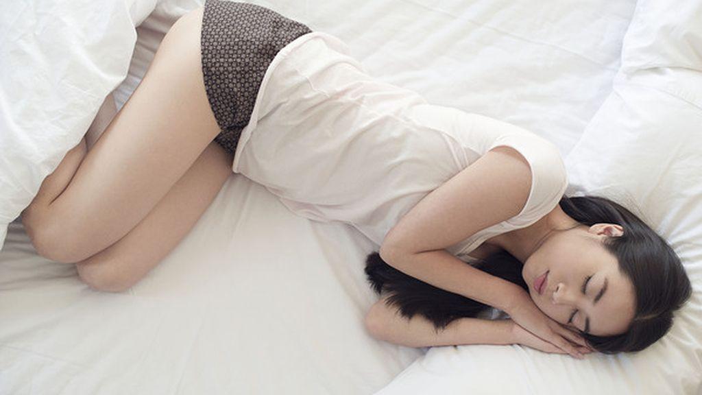 Dormir posición fetal