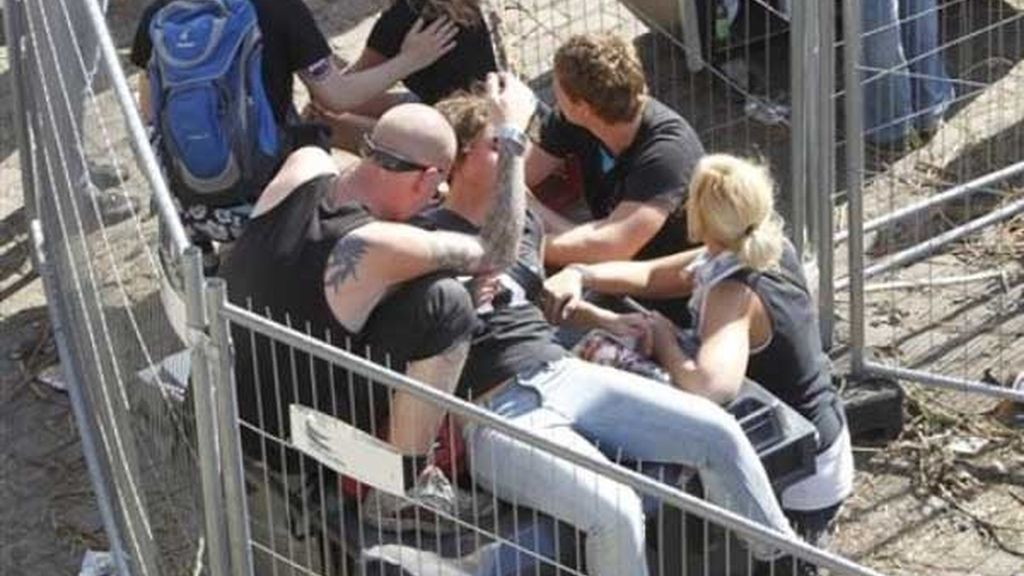 Avalancha mortal en el 'Loveparade'