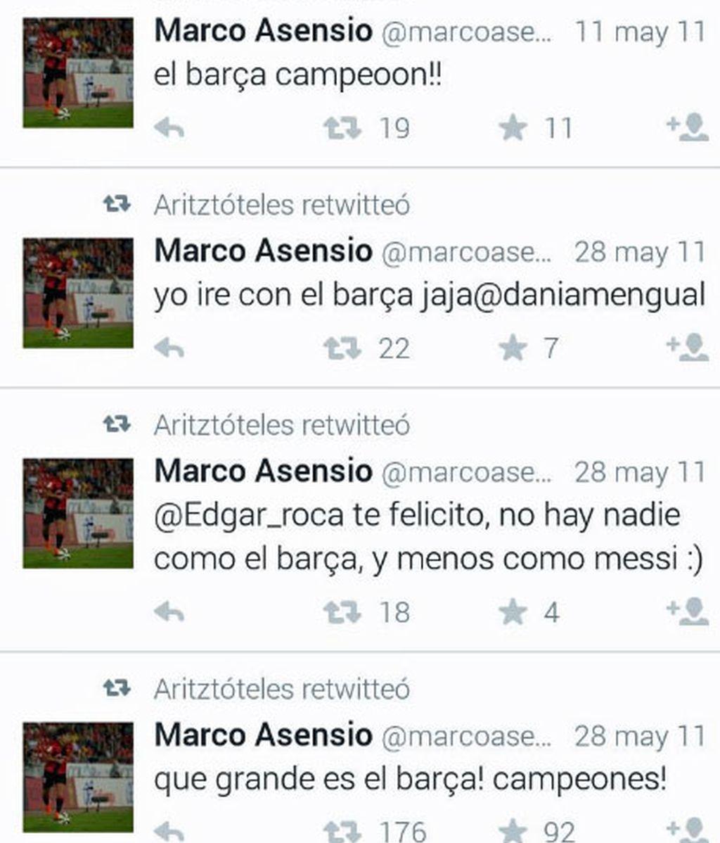 Marco Asensio,Barça,Real Madrid