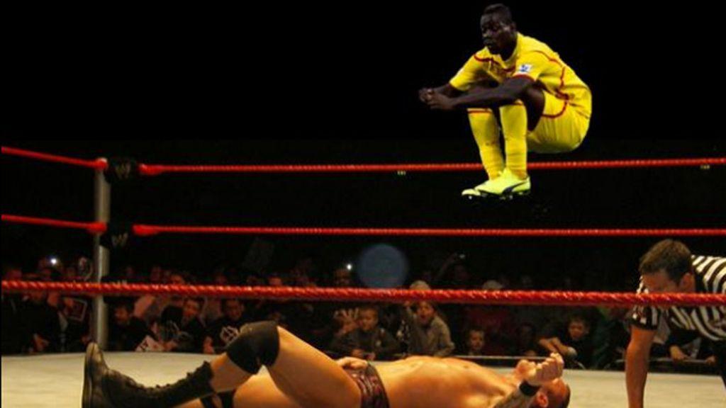 Los mejores montajes del salto de Mario Balotelli ante el West Ham