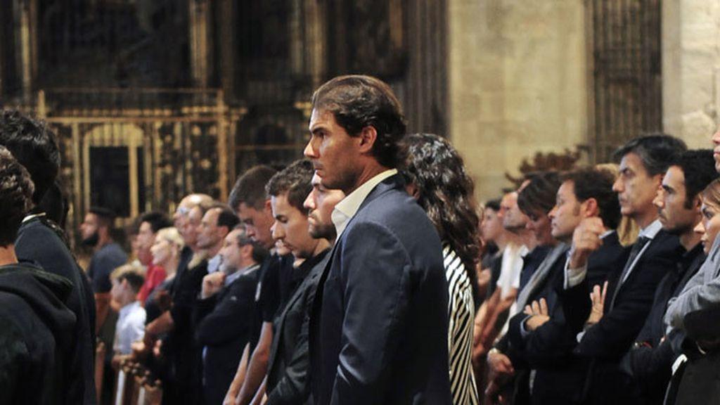 Momentos de gran dolor en el tanatorio de Son Valentí, en Mallorca
