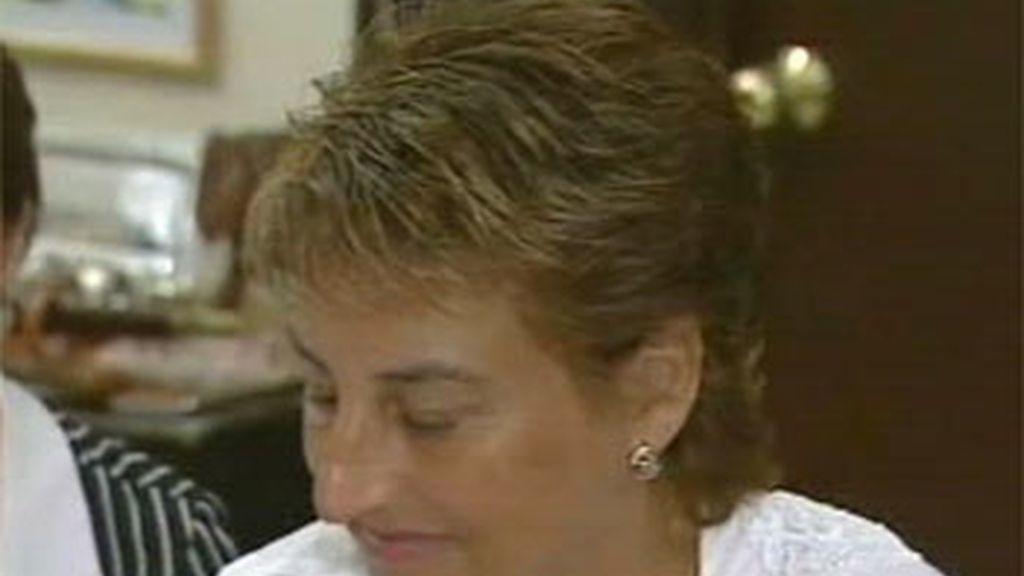La alcaldesa de La Muela, María Victoria Pinilla