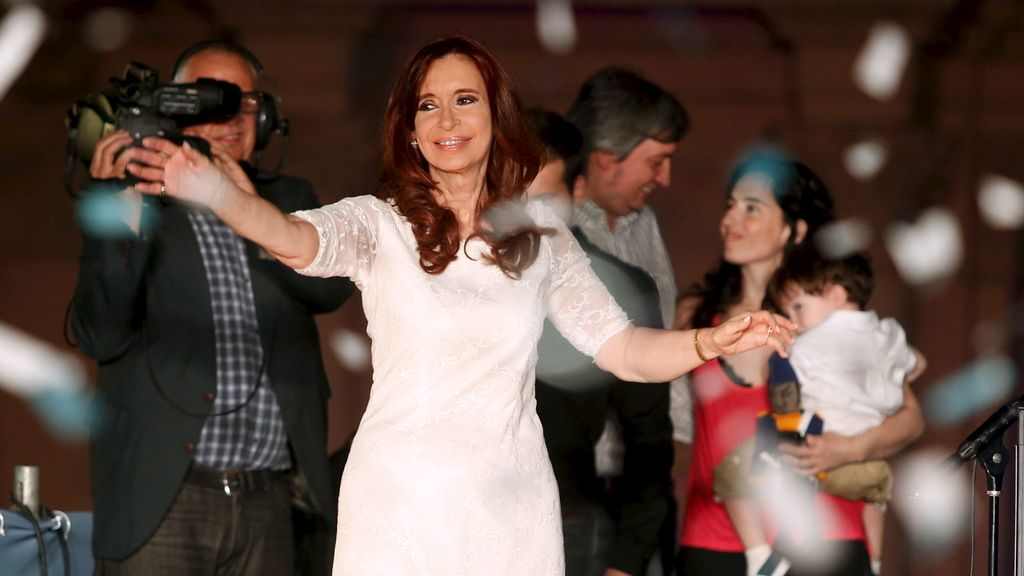 Cristina Fernández de Kirchner, ya expresidenta de Argentina,
