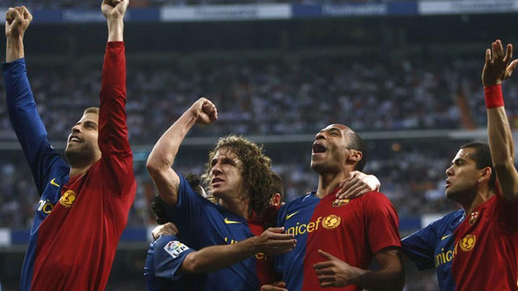 R. Madrid 2 - Barça 6 (2009)