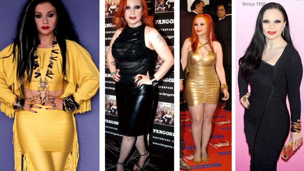 Los kilos de ida y vuelta de los famosos