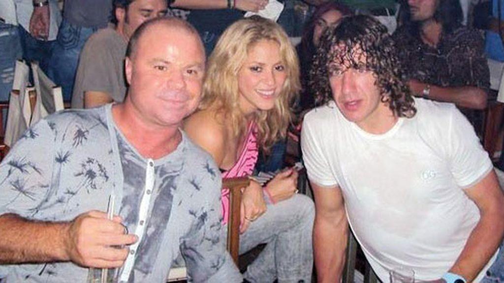 Las fiestas de Shakira y Piqué