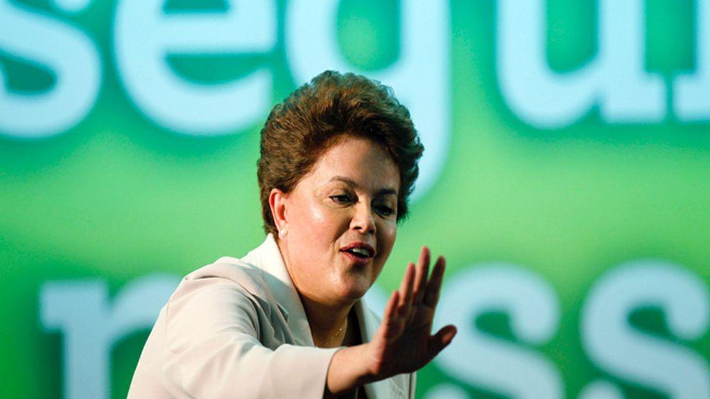 Dilma Rousseff, primera presidenta de Brasil