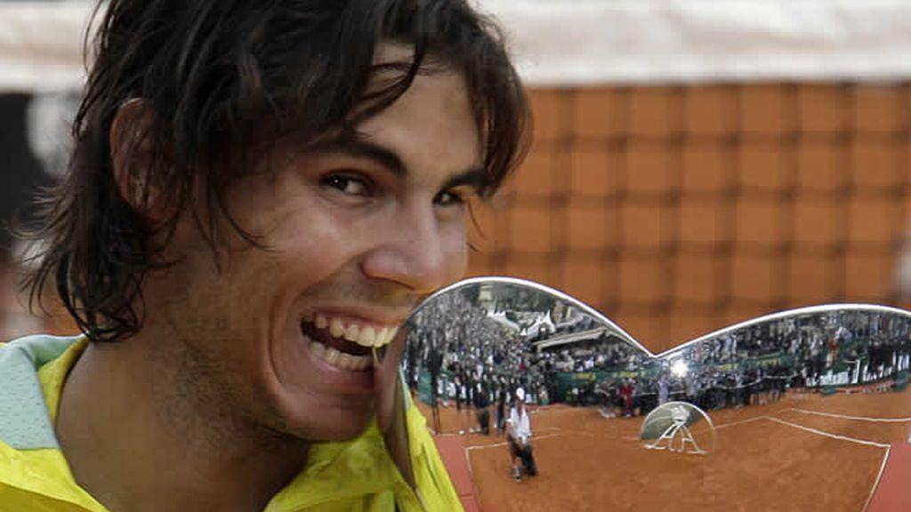 Rafa Nadal logra su quinto título consecutivo