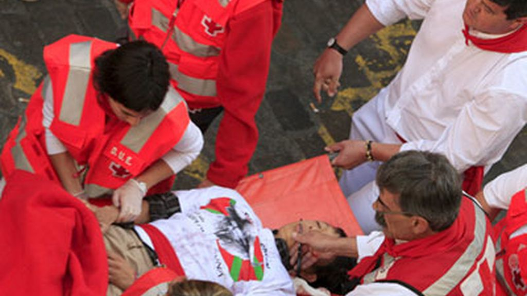 Sanfermines 2008: Primer encierro