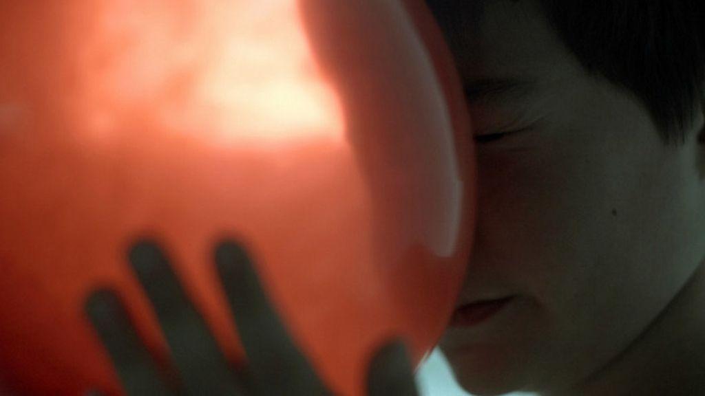 Un autista fotografiado por su padre