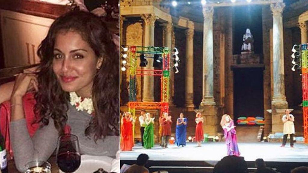 Hiba Abouk, turismo cultural con bien de piedra en el Festival de Teatro de Mérida