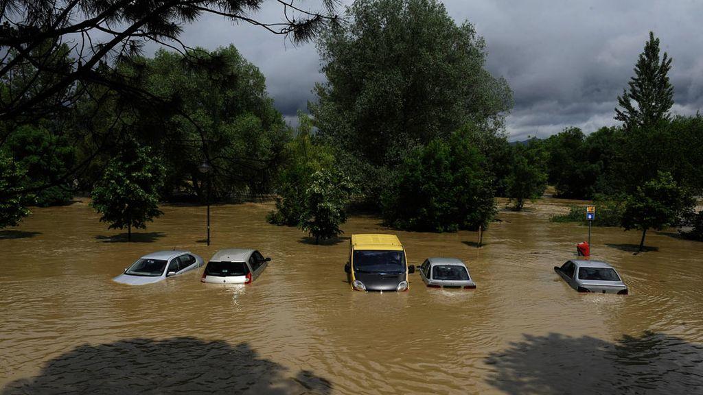 Inundaciones en Pamplona