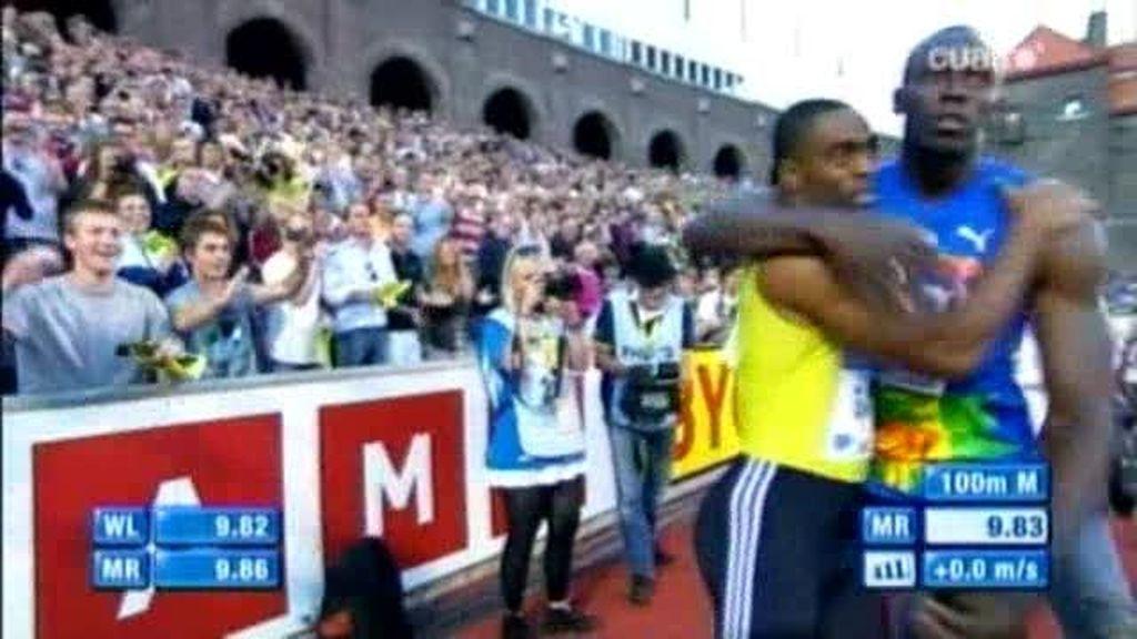 Ussain Bolt pierde tras dos años de imbatibilidad