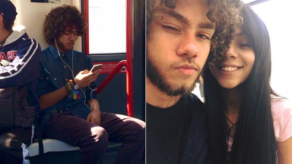 Se enamora de un chico en el metro, Facebook los reúne ¡y se convierten en pareja!