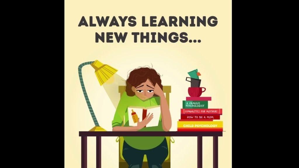 Aprender cosas nuevas continuamente
