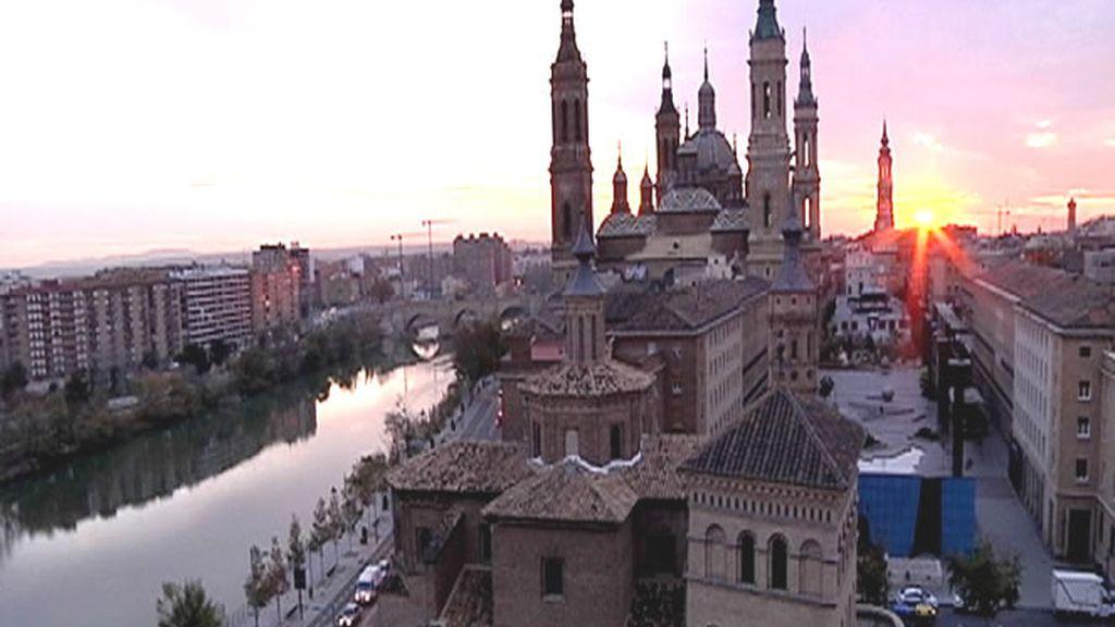 Impresionantes vistas de 'El Pilar' en Zaragoza