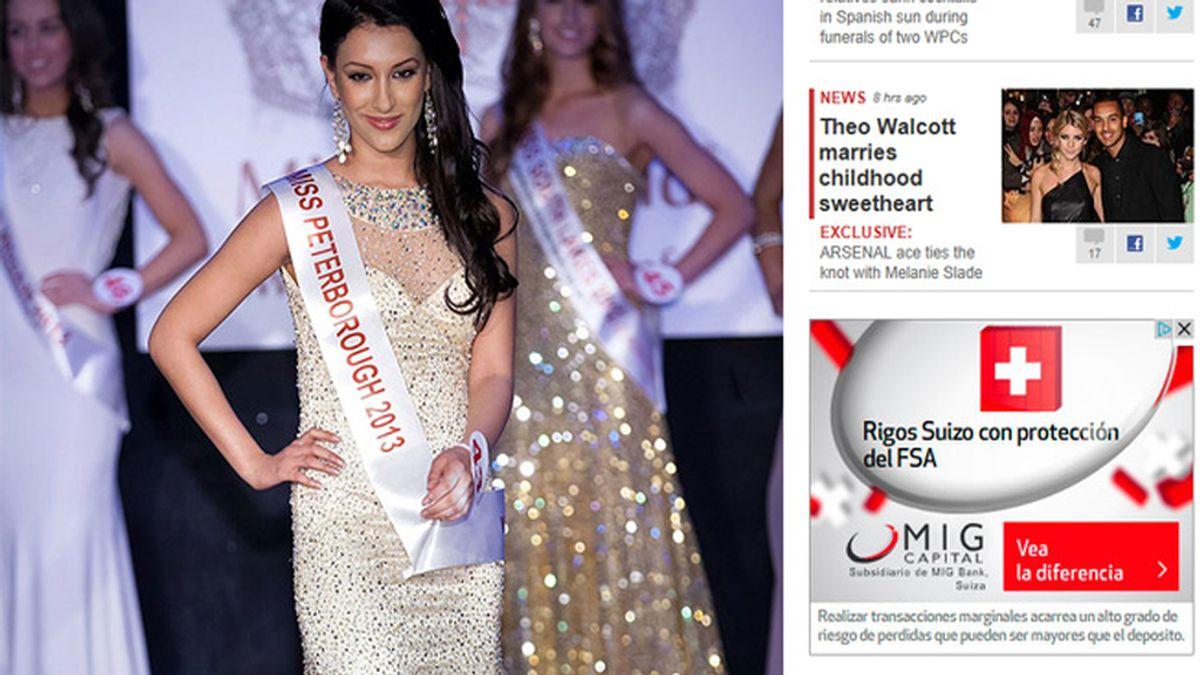 Marlene Star se presentó para ser 'Miss Leicester' y obtuvo el título de 'Miss Peterborough'