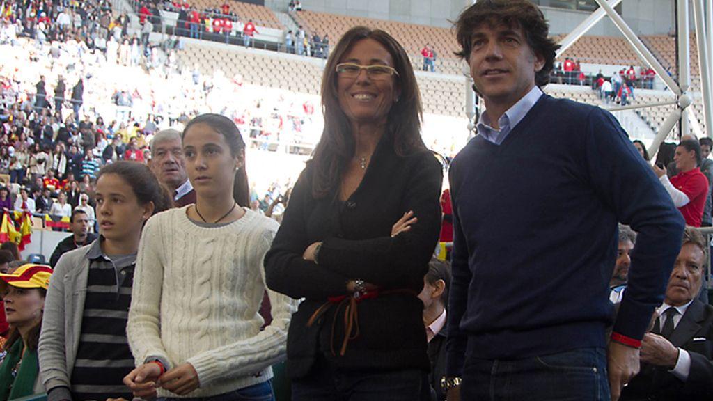 ¡¡¡Campeones!!! Todos con el tenis español