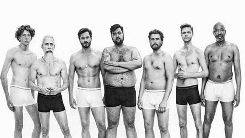 Marca de ropa interior revoluciona la idea sobre el hombre 'perfecto'