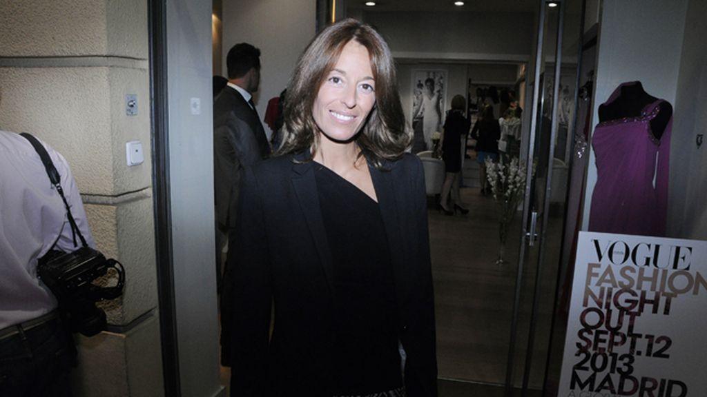 A Mónica Martín Luque nos la encontramos en Pronovias