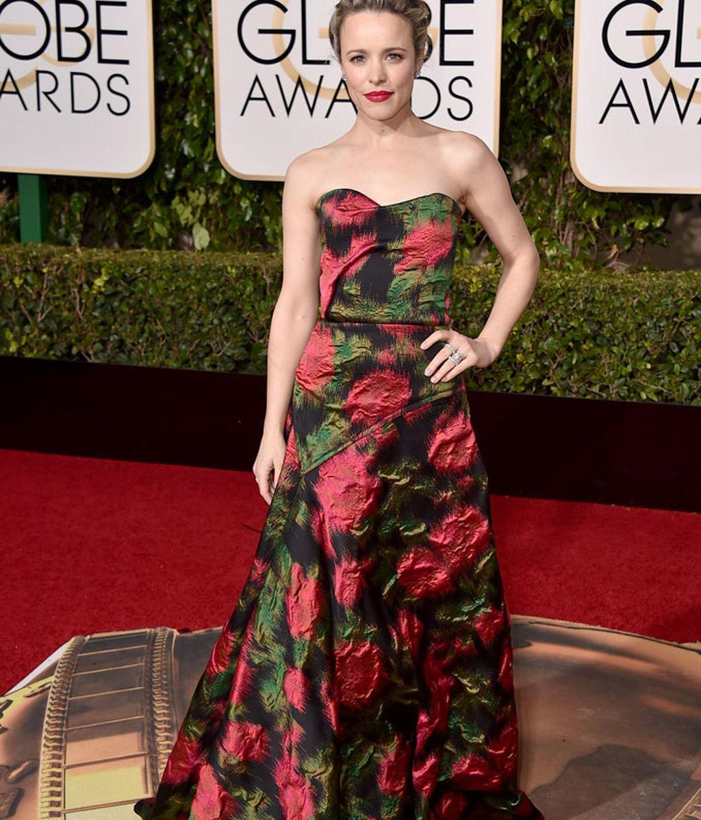 Rachel McAdams con vestido de Lanvin