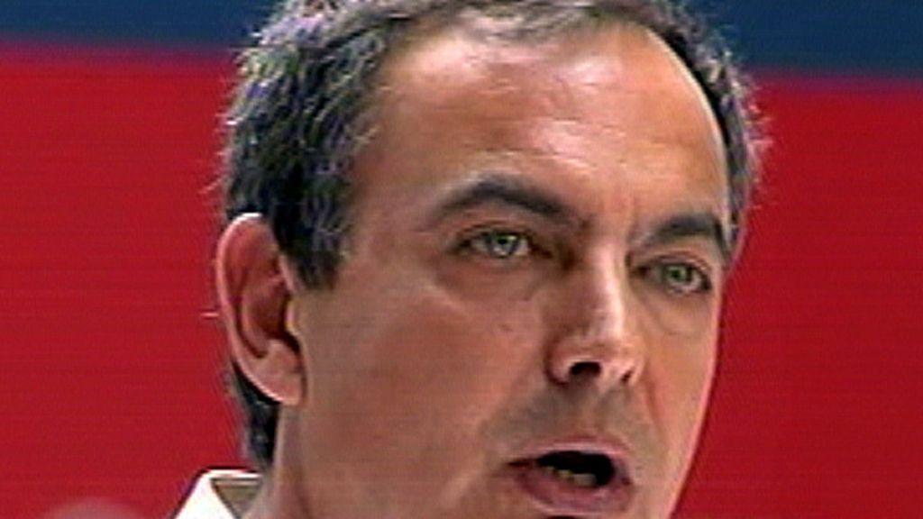 Zapatero en el mitin