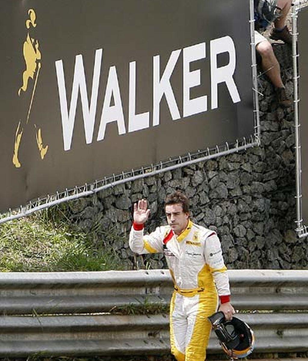 Accidentado GP de Brasil