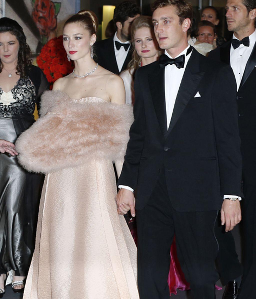 Pierre Casiraghi junto a su novia, Beatriz Borromeo