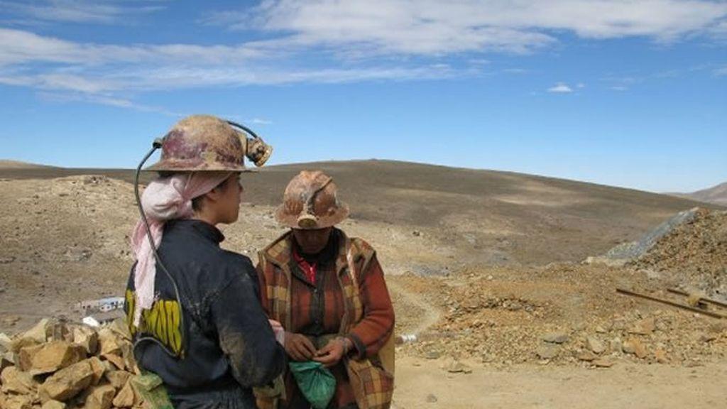 Exterior de la mina