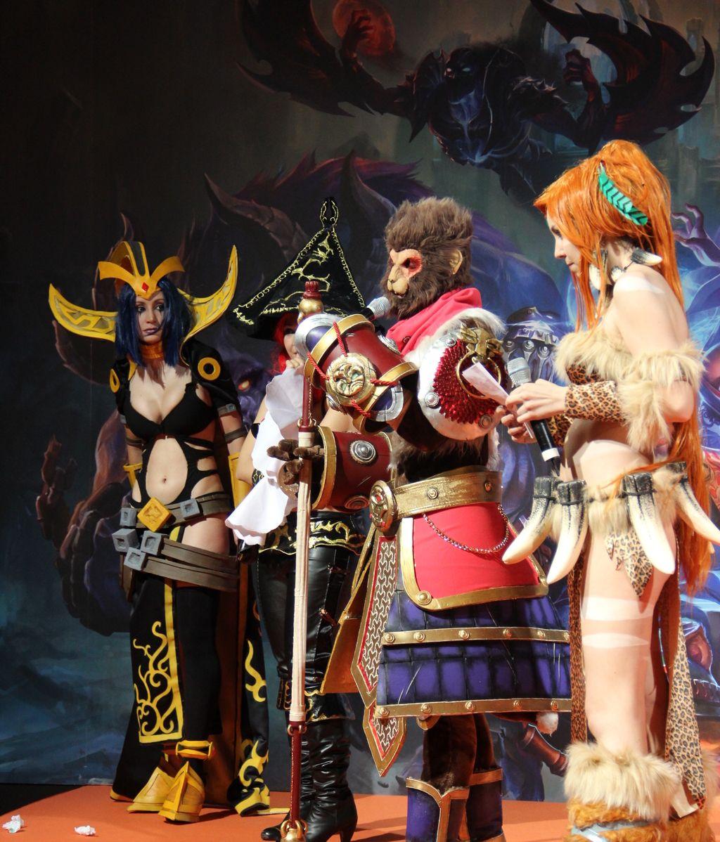 Elise, Miss Fortune, Wukong y Nidalee