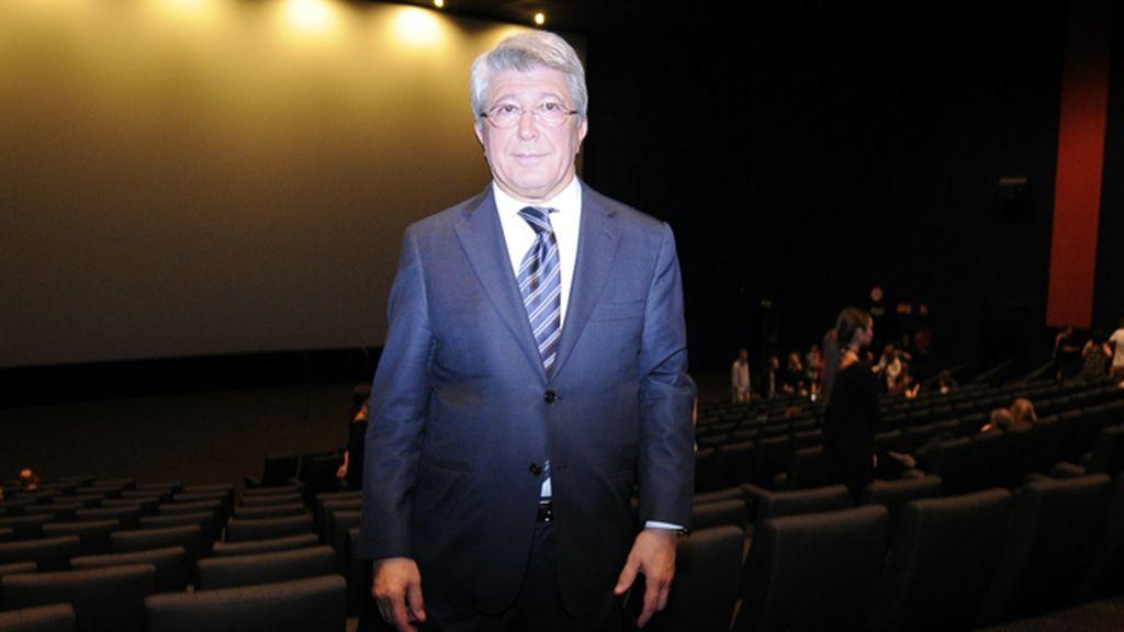El productor de la cinta, Enrique Cerezo