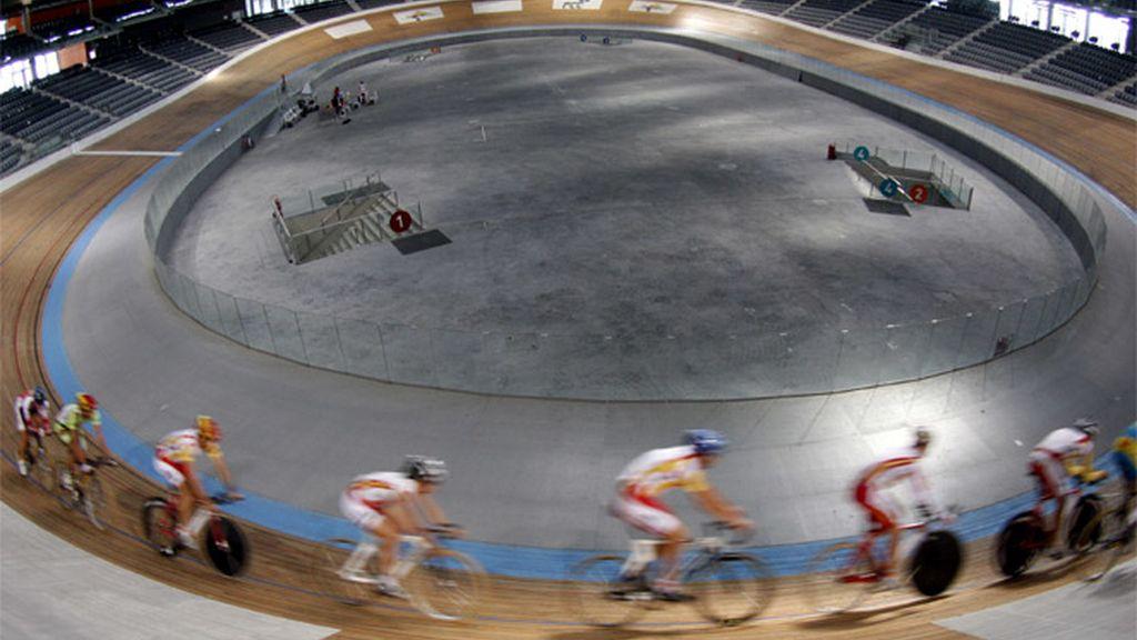 Corredores en el Palma Arena