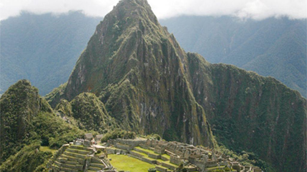 Antiguo poblado indígena de Machu Pichu (Perú)