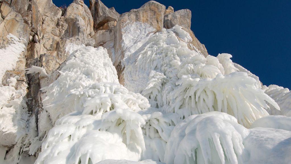 Cuevas heladas en Siberia