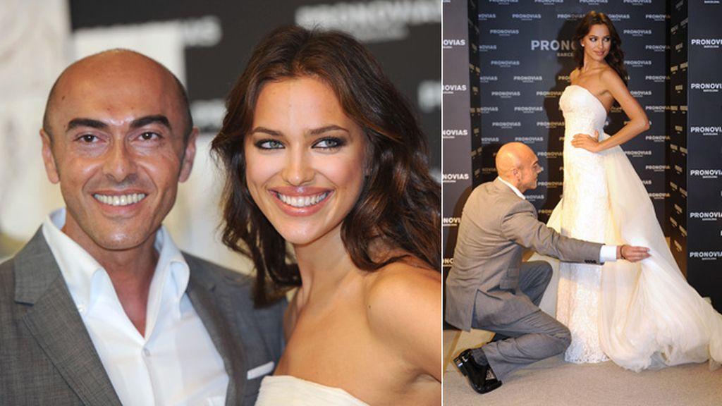 Irina Shayk ha sido una de las últimas top model en desfilar para el diseñador