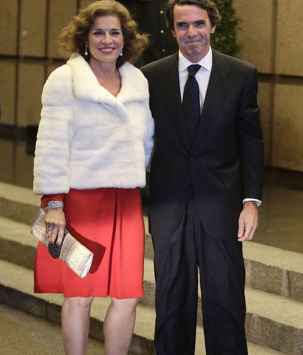 Ana Botella y José María Aznar