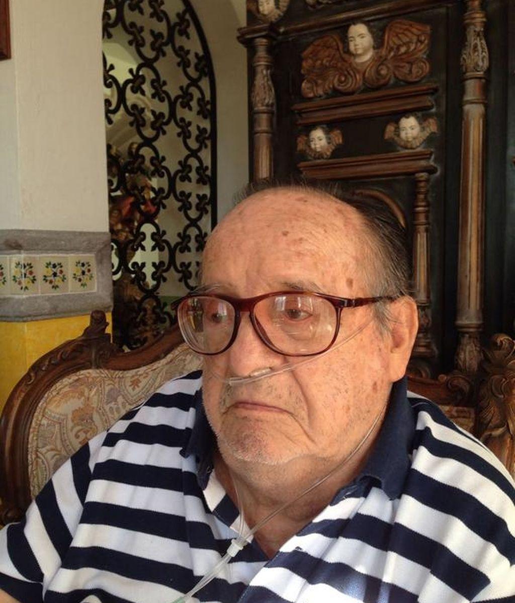 La última foto de Roberto Gómez Bolaños 'Chespirito'