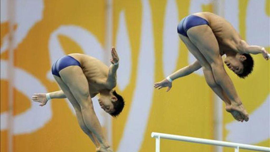 Yue y Liang, oro en plataforma 10 metros sincronizado