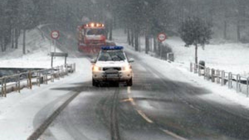 Caos en las carreteras madrileñas. Vídeo: Informativos Telecinco.