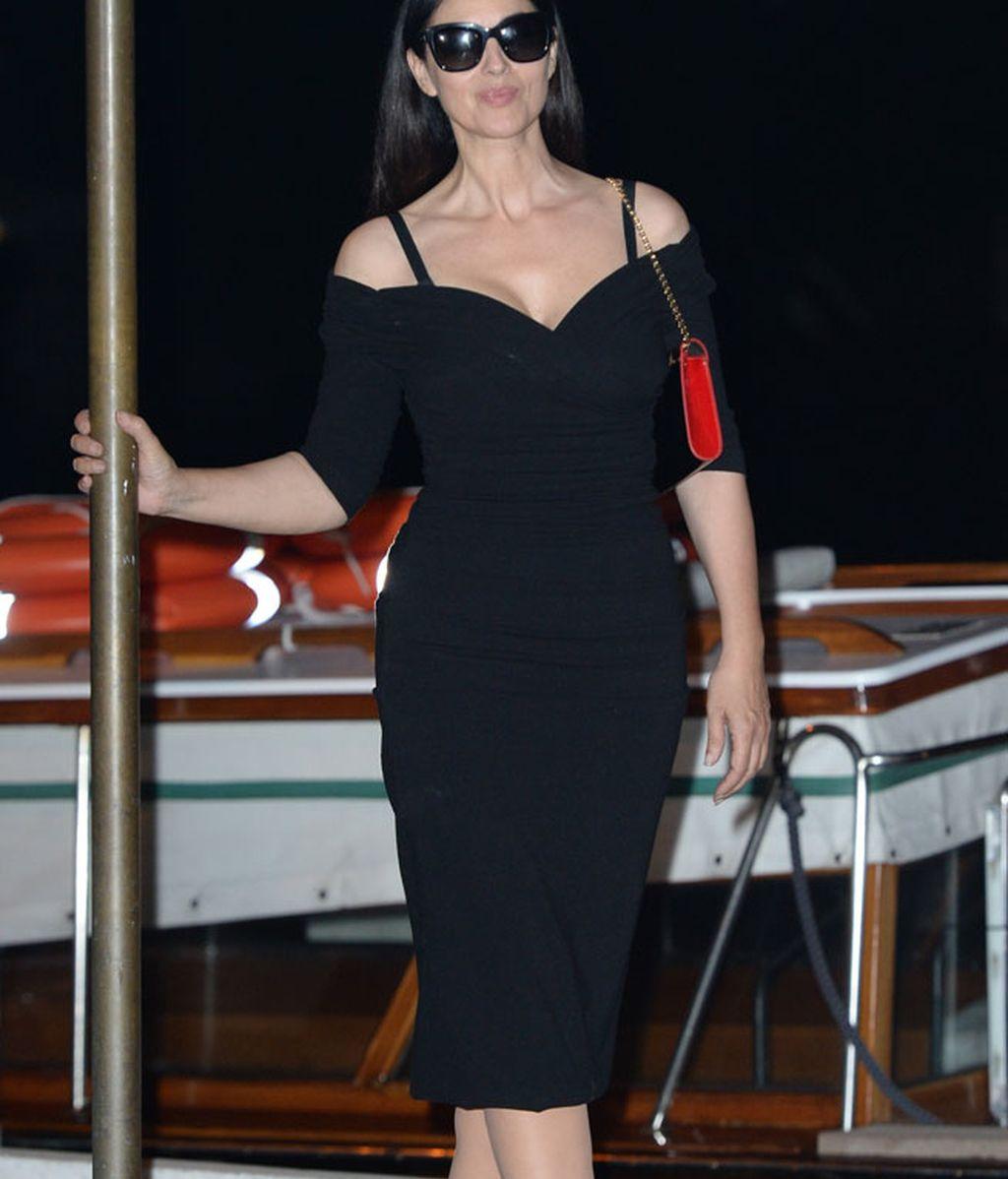 Monica Bellucci acaba de llegar al Festival: presenta la pelicula 'Un Ete Brulant'