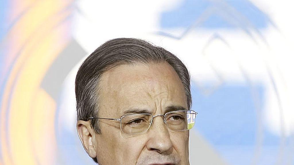 Florentino Pérez, presidente del Real Madrid C.F.