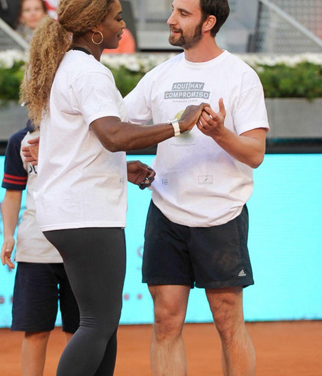El baile de Dani Rovira y Serena Williams