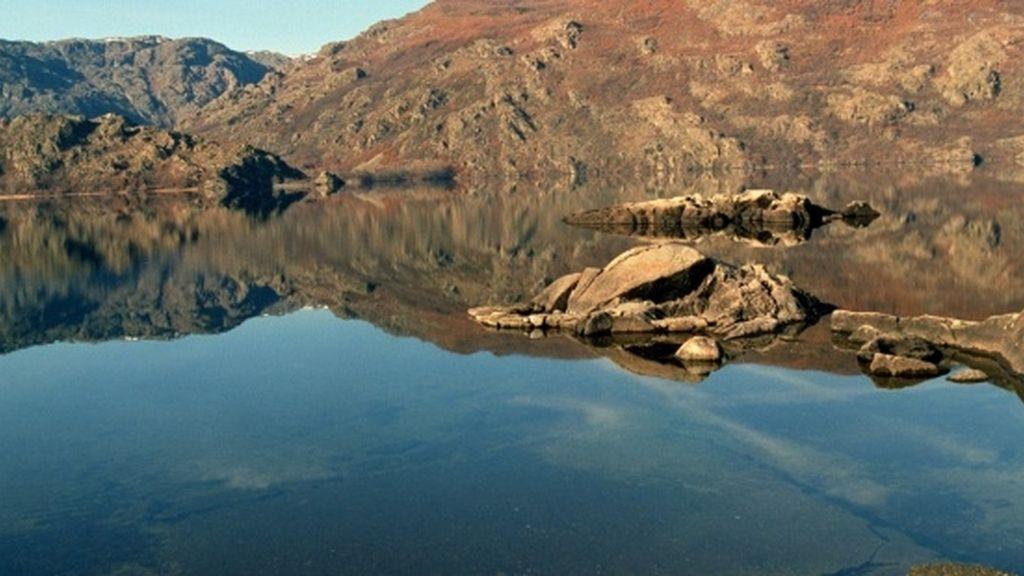 Lago de Sanabria, en un parque natural en Zamora
