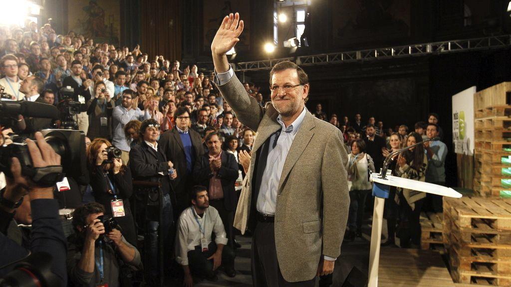 Rajoy con Nuevas Generaciones