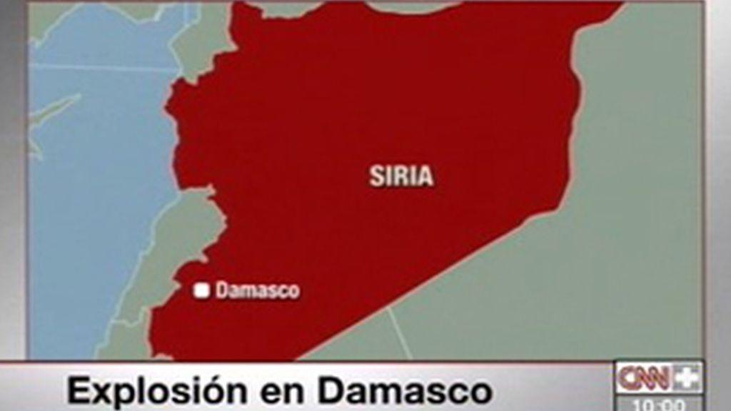 Una explosión causa seis muertos en Damasco
