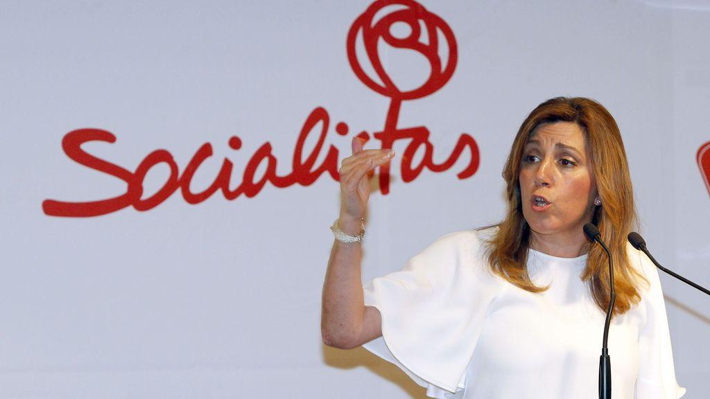 Susana Díaz elude desvelar cuál es su candidato favorito
