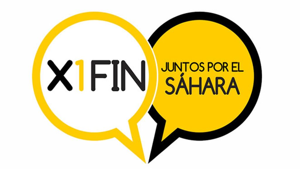 Logo X1FIN : Juntos por el Sáhara