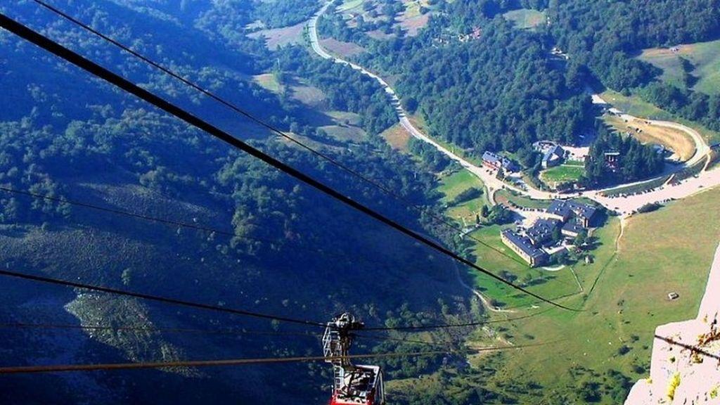 6. Fuente Dé, en Cantabria