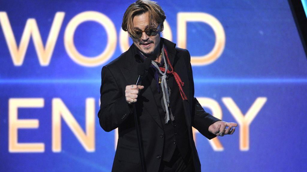 Johnny Depp en estado de embriaguez